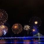 Eröffnung der neuen Rügenbrücke